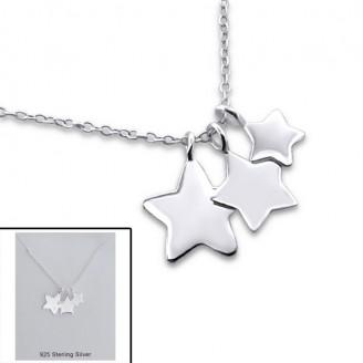 """Stříbrný náhrdelník """"Hvězdná obloha"""". Ag 925/1000"""